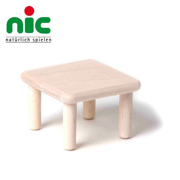 [nic ニック社]Bodo Hennig ボードヘニッヒ ドールハウス 人形の家用 角テーブル