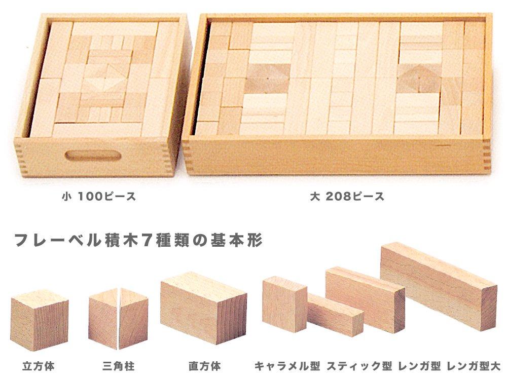 [Dusyma デュシマ社]フレーベル積木 (小) 100ピース