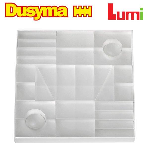 [Dusyma デュシマ社]Lumi ブロック ホワイト 28ピース