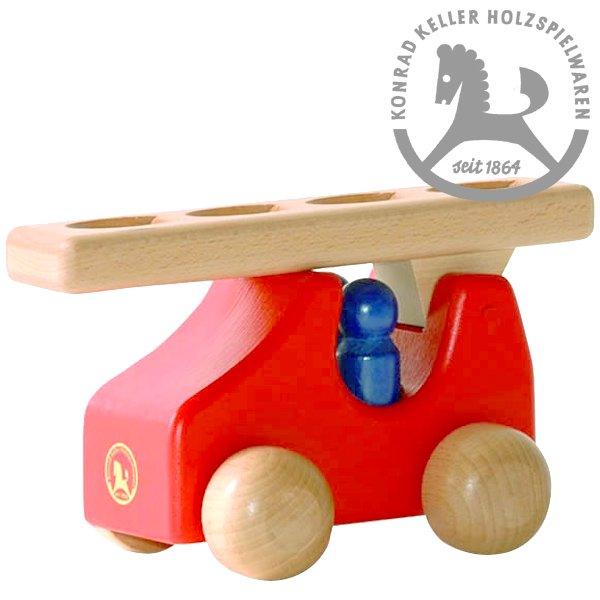 [Konrad Keller ケラー社]はしご車 (小) 赤