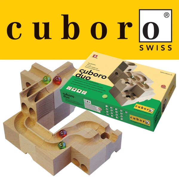 [cuboro キュボロ社/クボロ社]cuboro キュボロ デュオ