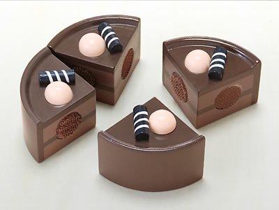 [ダイワ]ミニキッチンシリーズ おままごと食材 チョコレートケーキ