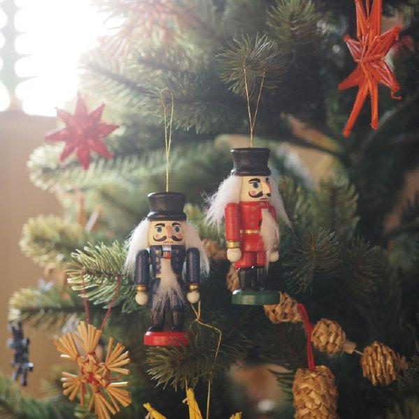 [Kimmerle キマール社]クリスマス 木製オーナメント くるみ割り人形 8cm