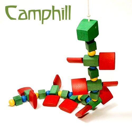[Camphill キャンプヒル]引き車 ムカデ君
