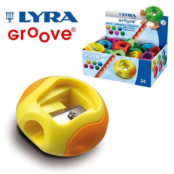 【メール便可】[LYRA リラ社]Groove グルーヴ シングルホールシャープナー