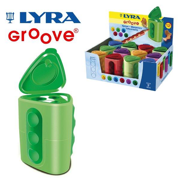 [LYRA リラ社]Groove グルーヴ ツインホール シャープナー