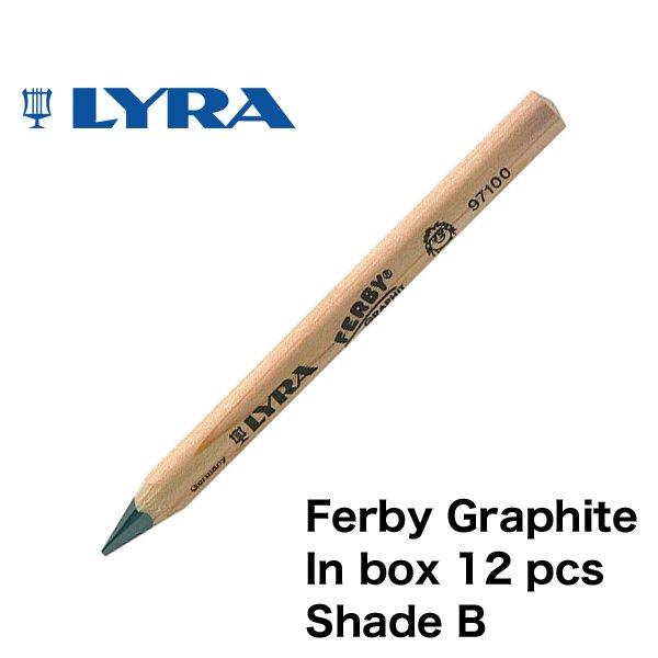 【メール便可】[LYRA リラ社]FERBY ファルビー 鉛筆 Bグラファイト 12本入り