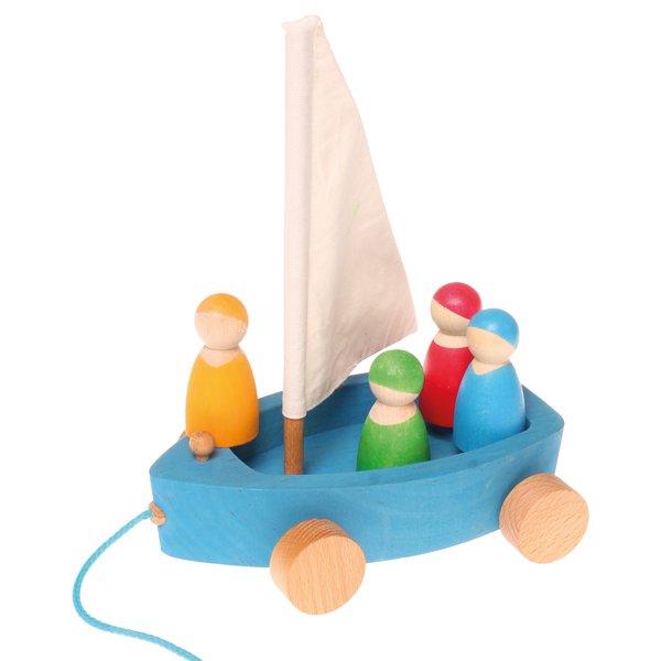 [Grimm's Spiel & Holz Design グリムス社]おでかけヨット