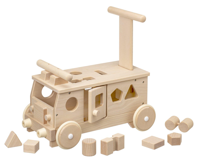 [平和工業]Mocco モッコ 森のパズルバス 名入れセット