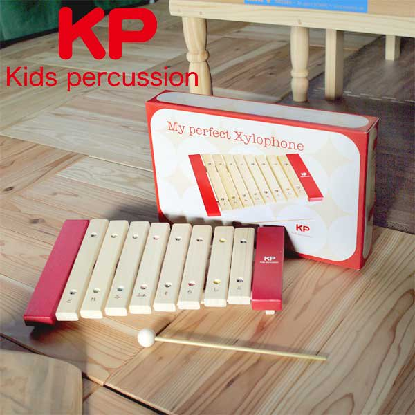 [Kids Percussion キッズパーカッション]マイパーフェクトサイロフォン 名入れセット