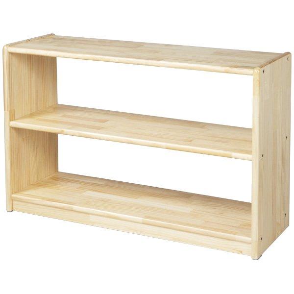 [ブロック社]白木棚<小>