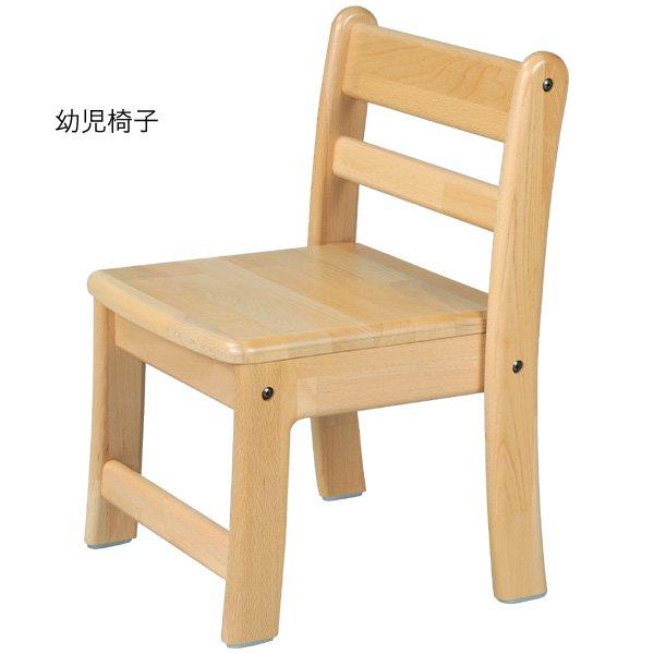 [ブロック社]角テーブル 120×60 角脚折畳と幼児椅子6脚のセット