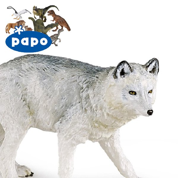 [PAPO パポ社]ホッキョクギツネ