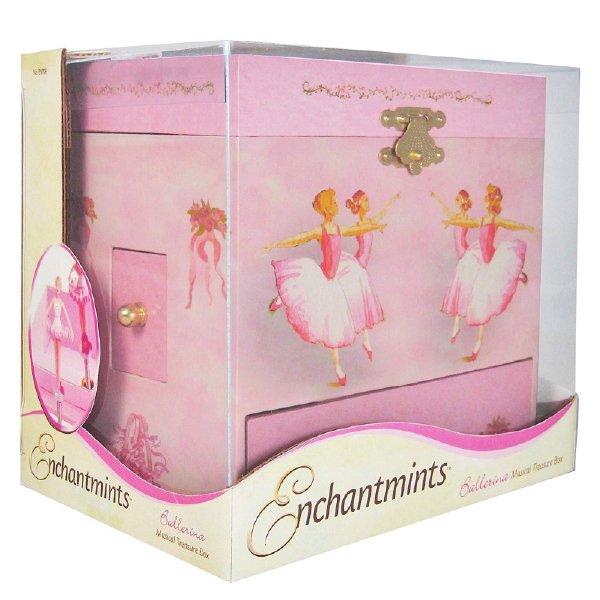 [Enchantmints エンチャントミンツ]オルゴール付きジュエリーボックス バレリーナ