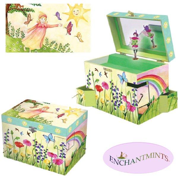 [Enchantmints エンチャントミンツ]オルゴール付きジュエリーボックス サマーサンシャイン
