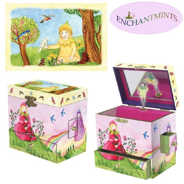 [Enchantmints エンチャントミンツ]オルゴール付きジュエリーボックス スプリングバースト
