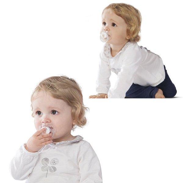 [ Vulli ヴュリ ] キリンのソフィー おしゃぶり 6-18ヶ月(2個入り)