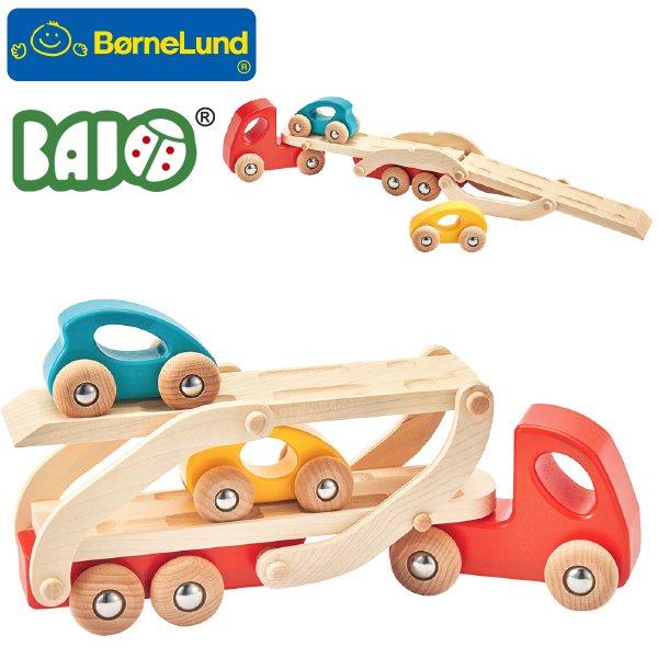 [Bornelund ボーネルンド]BAJO バヨ 車をはこぶトラック キャリアカー