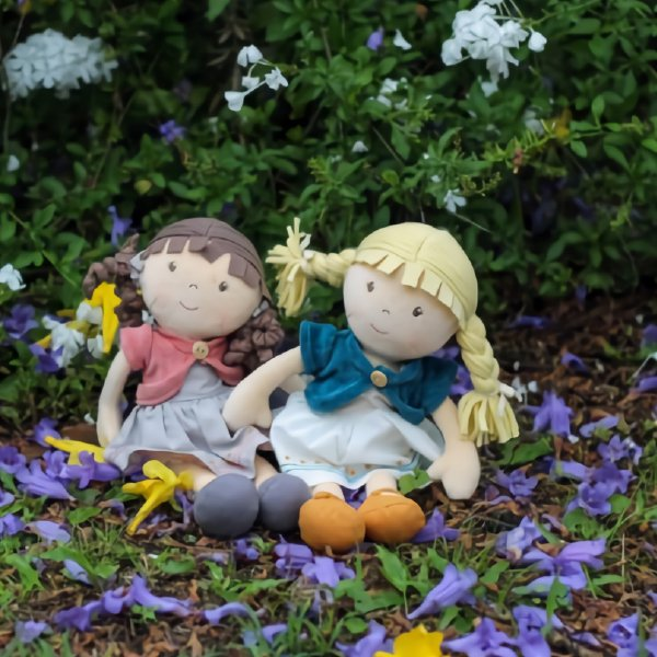 [Bonikka ボニカ]オーガニックコットン ボニカのだっこ人形 ローズ 世話人形
