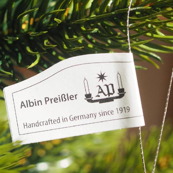 [ Albin preissler アルビン・プライスラー ] 立体星のオーナメント ベツレヘムの星 銀の星 立体 小 3D 木製オーナメント