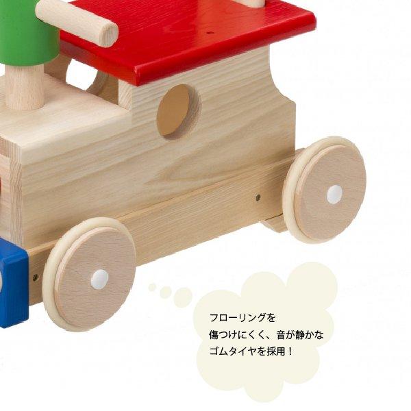 [平和工業]Mocco モッコ 森のカラフルロコ 足漕ぎ4輪車