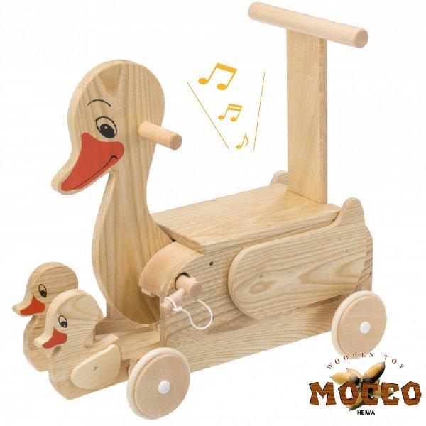 [平和工業]Mocco モッコ 乗用アヒルの親子 足漕ぎ4輪車