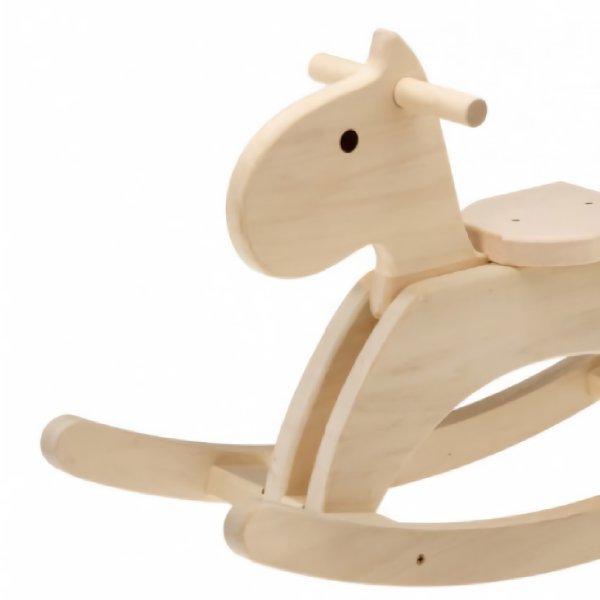 [平和工業]Mocco モッコ 森のもくば 木馬 ロッキングホース