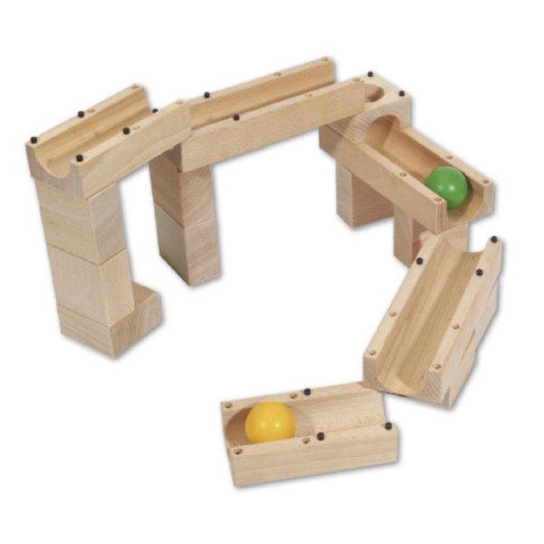 [xyloba サイロバ]xyloba junior mini サイロバジュニア ミニ 構成力を育てるスイス生まれの木製マーブルラン 3才から