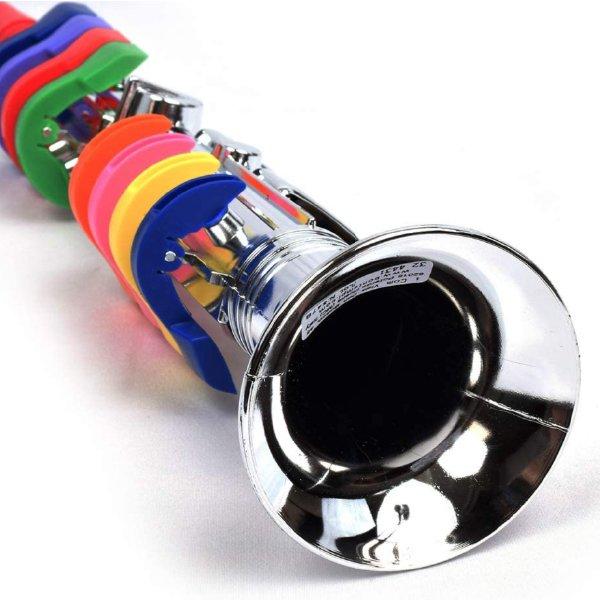 [ bontempi ボンテンピ ]シルバークラリネット 子供用楽器 3歳から 吹奏楽器 管楽器 おもちゃ 知育玩具