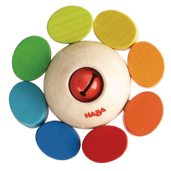 [ HABA ハバ ] ラトル カラーフラワー ドイツ ガラガラ 半年 6ヶ月 ブラザージョルダン