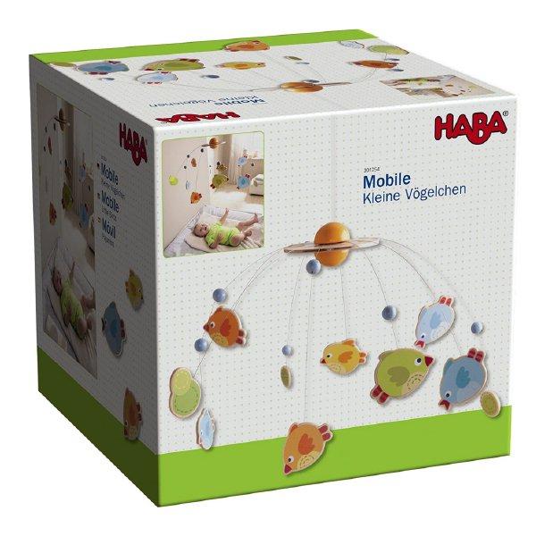 [ HABA ハバ ]  モビール フォーゲル ドイツ 0ヶ月 ブラザージョルダン   とり 鳥