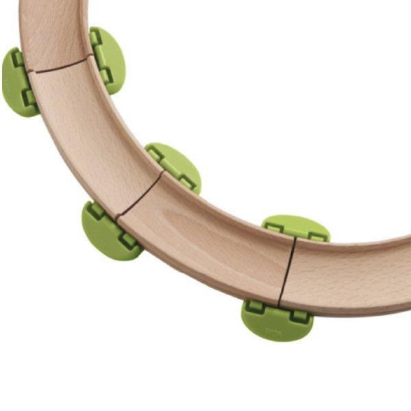 [ HABA ハバ ]  グラビュジョイントパーツ グラビューカーシリーズ ドイツ 1歳半 ブラザージョルダン 玉転がし スロープ 組み立て ピタゴラスイッチ 積み木