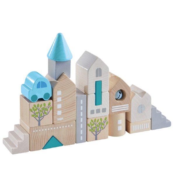[ HABA ハバ ]  ブロックス ローダッハ ドイツ 1歳半 18ヶ月 ブラザージョルダン 積み木 パズル ブロック 知育玩具