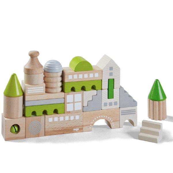 [ HABA ハバ ]  ブロックス コーブルク ドイツ 1歳半 18ヶ月 ブラザージョルダン 積み木 パズル ブロック 知育玩具