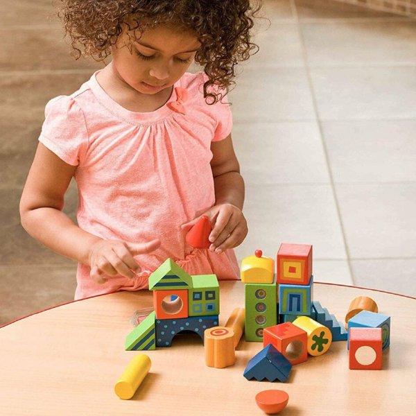 [ HABA ハバ ]  積木 ファンタジー ドイツ 1歳半 18ヶ月 ブラザージョルダン 積み木 パズル ブロック 知育玩具