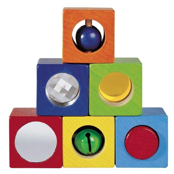 [ HABA ハバ ]  ベビーブロック ディスカバリー ドイツ 1歳 ブラザージョルダン 積み木 パズル ブロック 知育玩具