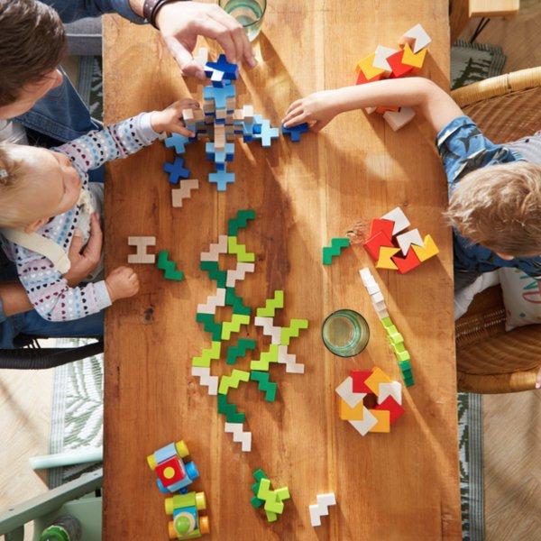 [ HABA ハバ ]  3Dパズル ブルー ドイツ 3歳 ブラザージョルダン 積み木 パズル ブロック 知育玩具