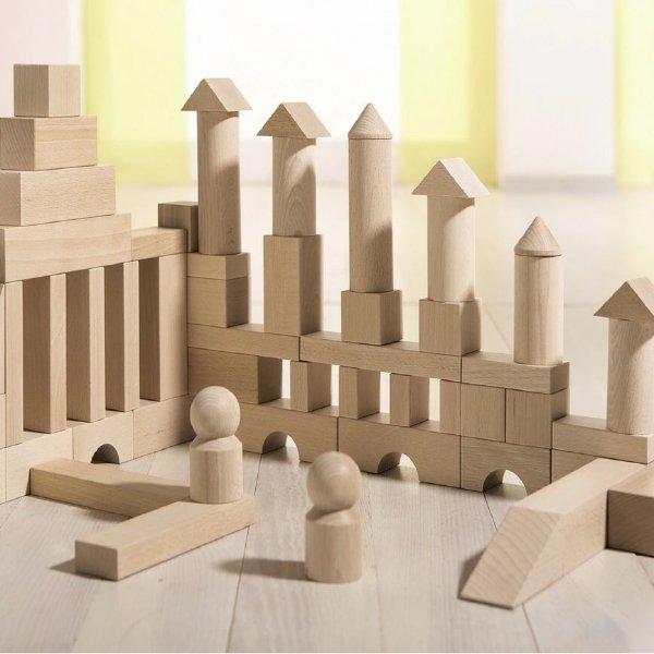 [ HABA ハバ ]  ブロックス スターターセット 大 積木 ドイツ 1歳 ブラザージョルダン 積み木 知育玩具