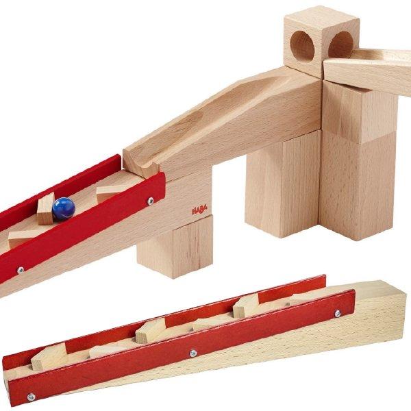 [ HABA ハバ ]  組み立てクーゲルバーン ドイツ 4歳 ブラザージョルダン ビー玉転がし スロープ ピタゴラスイッチ 積み木