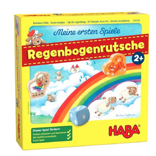[ HABA ハバ ] にじの滑り台 はじめてのゲーム 日本語説明書付 2歳 1-4人 ブラザージョルダン ドイツ ボードゲーム