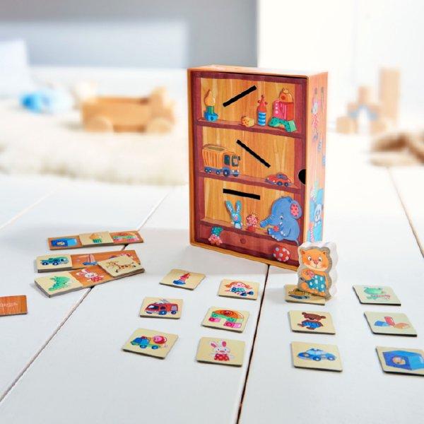 [ HABA ハバ ] ニャンコとおかたづけ はじめてのゲーム 日本語説明書付 2歳 1-3人 ブラザージョルダン ドイツ ボードゲーム