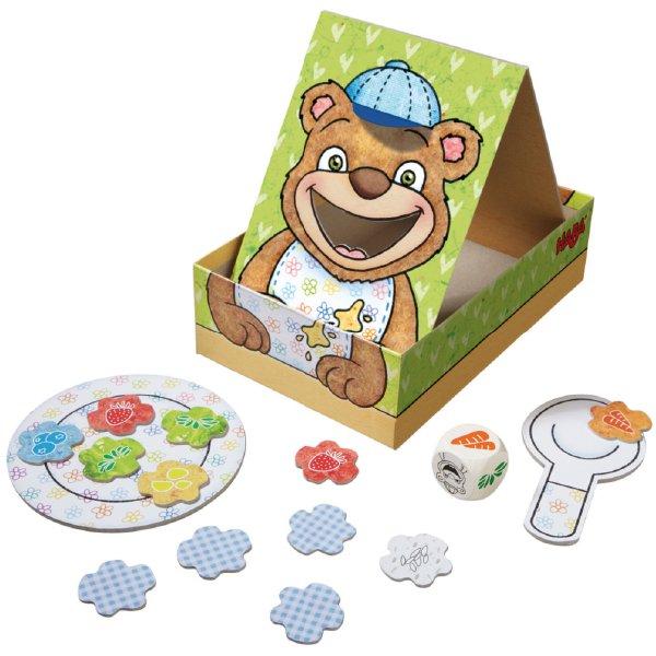 [ HABA ハバ ] モグモグくまさん はじめてのゲーム 日本語説明書付 2歳 1-3人 ブラザージョルダン ドイツ ボードゲーム