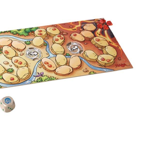 [ HABA ハバ ] ドラゴンとファイヤークリスタル 日本語説明書付 3歳 2-4人 ブラザージョルダン ドイツ ボードゲーム
