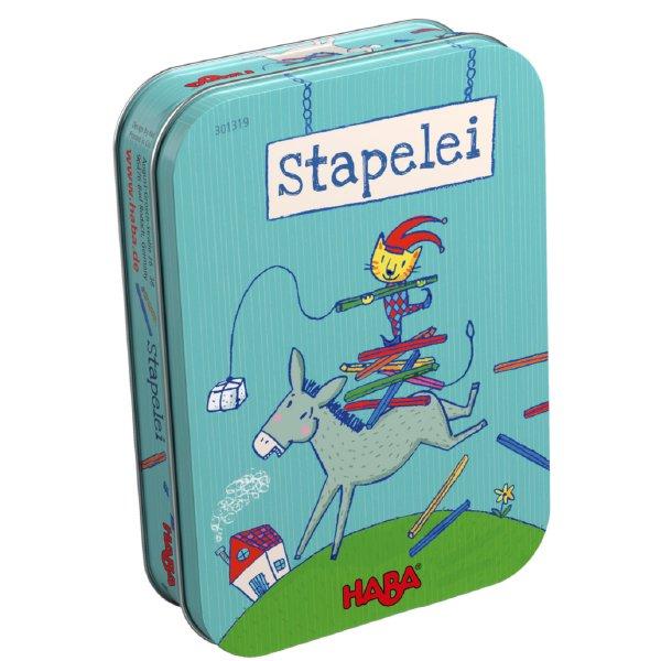 [ HABA ハバ ] 缶入りゲーム スタック ロバのバランスゲーム 日本語説明書付 4歳 1-4人 ブラザージョルダン ドイツ ボードゲーム