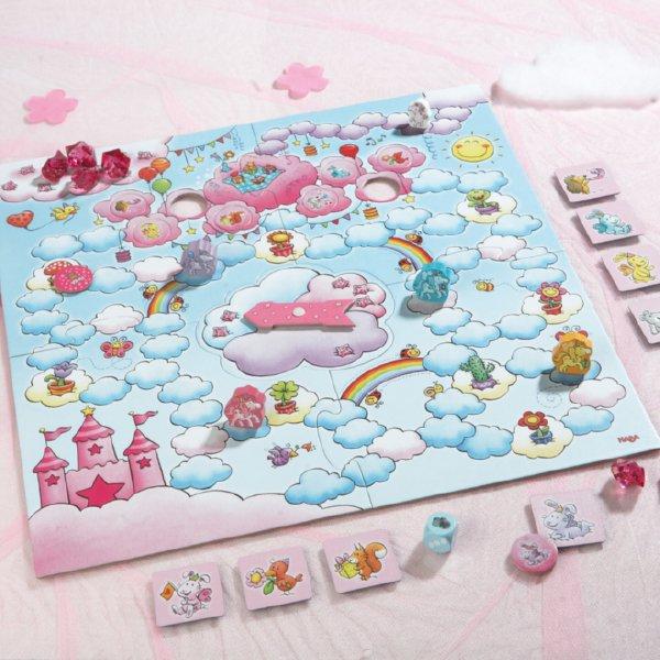 [ HABA ハバ ] 雲の上のユニコーン デラックス 日本語説明書付 4歳 2-4人 ブラザージョルダン ドイツ ボードゲーム HA302767