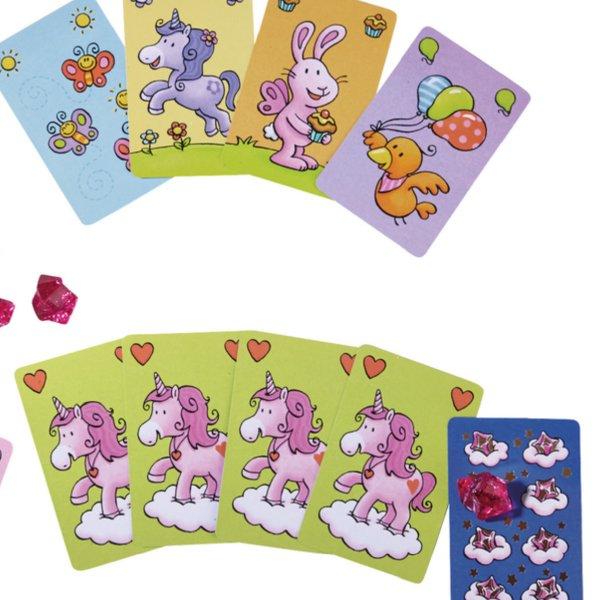 [ HABA ハバ ] ユニコーンカルテット 雲の上のユニコーン 日本語説明書付 4歳 2-6人 ブラザージョルダン ドイツ ボードゲーム カードゲーム