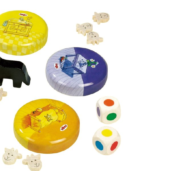 [ HABA ハバ ] 子やぎのかくれんぼ メモリーゲーム 日本語説明書付 4歳 2-4人 ブラザージョルダン ドイツ ボードゲーム
