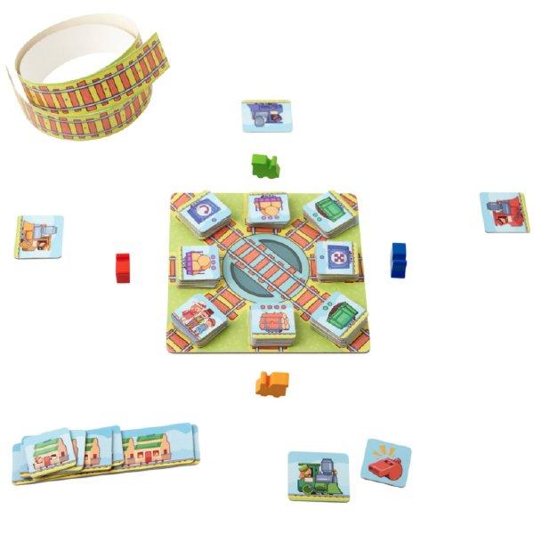 [ HABA ハバ ] ご乗車お願いします! 日本語説明書付 5歳 2-4人 ブラザージョルダン ドイツ ボードゲーム 戦略ゲーム おうち時間