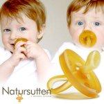 [Eco Baby エコ ベビー社] おしゃぶり NATURSUTTEN ナチュアスッテン 歯科矯正型