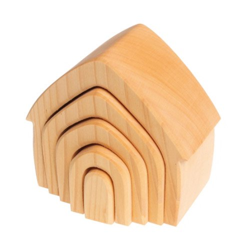 [Grimm's Spiel & Holz Design グリムス社] ハウス ナチュラル
